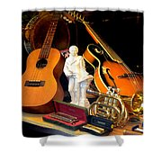 Musically Inclined Shower Curtain