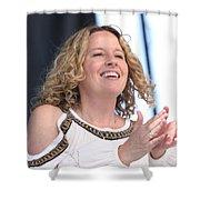 Musician Amy Helm Shower Curtain