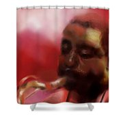 Musician Shower Curtain