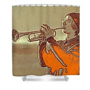 Musician Youth Shower Curtain