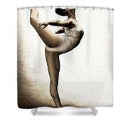 Musing Dancer Shower Curtain