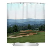 Musket Ridge Golf - In The Foothills Of The Catoctin Mountains - Par 5 - 10th Shower Curtain