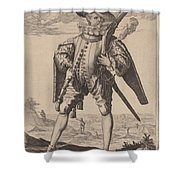 Musketeer Shower Curtain
