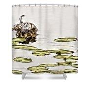 Muskrat Love Shower Curtain