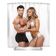 Musle Buid Shower Curtain