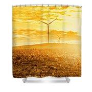 Musselroe Wind Farm Shower Curtain