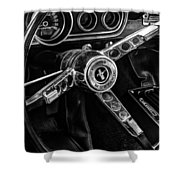 Mustang 329 Shower Curtain