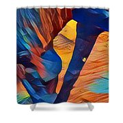 Mustang I C Shower Curtain