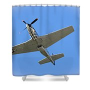 Mustang Overhead Shower Curtain