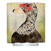 Musvovy Watercolor Shower Curtain