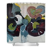 Mute Speed Shower Curtain
