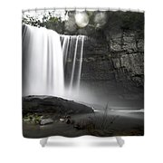 Muted Shower Curtain