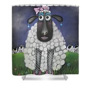 Mutton Dressed As Lamb Shower Curtain