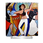 Muy Caliente Shower Curtain