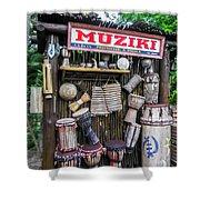 Muziki Shower Curtain