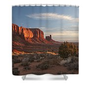 Mv Mesa Sunrise 7656 Shower Curtain