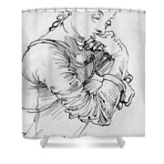 My Agnes 1494 Shower Curtain