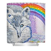 My Artic Fox Shower Curtain