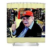 My Astros Cap Shower Curtain