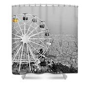 My Barcelona.. Shower Curtain