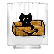 My Box Shower Curtain