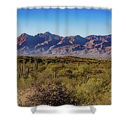 My Catalina Mountains Shower Curtain