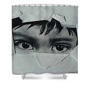 My Child's Eyes Shower Curtain