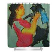 My Cute Dog Shower Curtain
