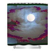 My Dream Moon Moonshine Sky Shower Curtain