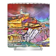 My Dream Place In Spain Shower Curtain
