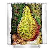 My Favorite Pear One Shower Curtain