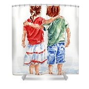 My Friend Shower Curtain