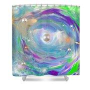 My Galaxy Too Shower Curtain