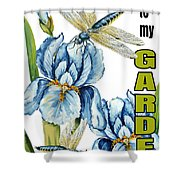 My Garden-jp2829 Shower Curtain