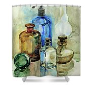 My Glass Collection II Shower Curtain