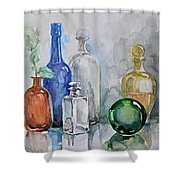 My Glass Collection IIi Shower Curtain
