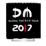 My Global Spirit Tour 2017 - White Shower Curtain