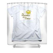 My Grand Childrent-shirt Shower Curtain
