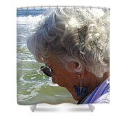 My Grandmother Shower Curtain