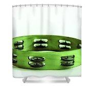 My Green Tambourine Shower Curtain