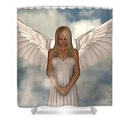 My Guardian Shower Curtain by Alexander Butler