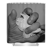 My Hand By Hans Shower Curtain