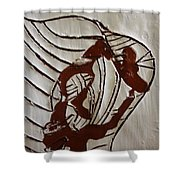 My Heart - Tile Shower Curtain