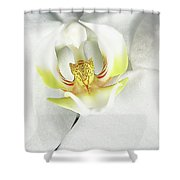 My Inner Orchid Shower Curtain