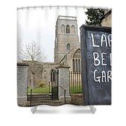 My Kind Of Church Shower Curtain