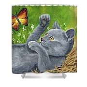 My Kitty Shower Curtain
