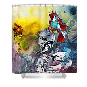 My Knight In Shining Armour Shower Curtain