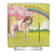 My Little Pony Shower Curtain