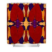 My Love Is Alive Abstract Bliss Art By Omashte Shower Curtain
