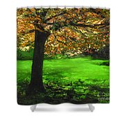 My Love Of Trees I Shower Curtain